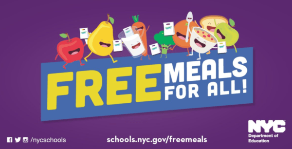 NYC DOE Free Meals For All