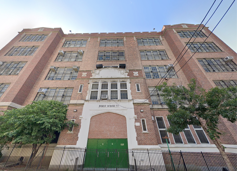 PS 59 School Building Facade