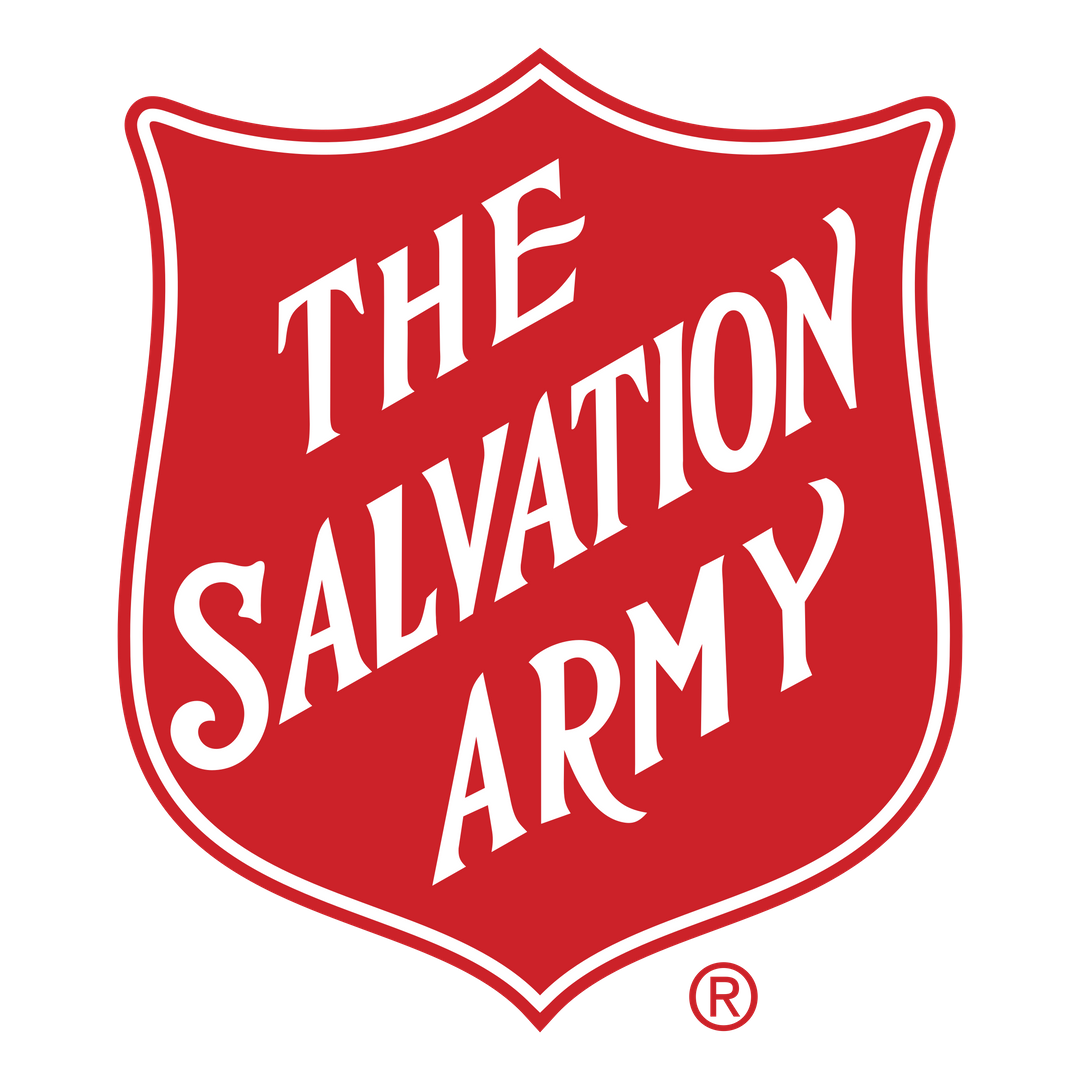 Red and White Shield, Salvation Army Logo