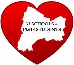 CSD12 Student population across all schools graphic