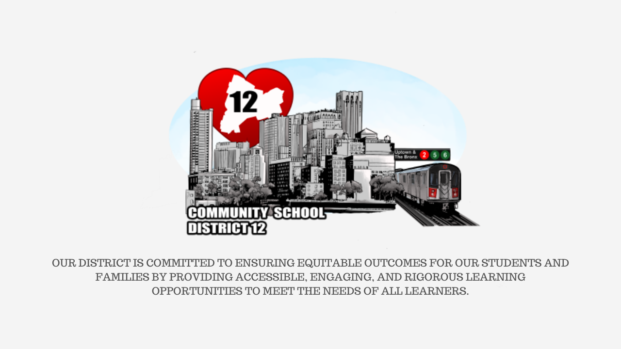 District logo with mission statement