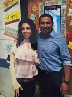 Mrs. Delghavi & Mr. Viegas