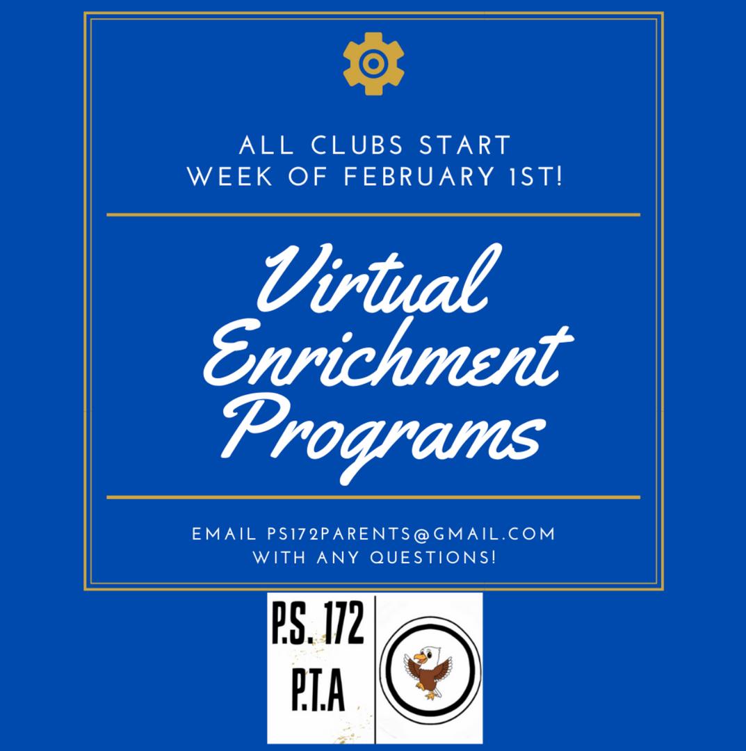 Virtual Enrichment Programs