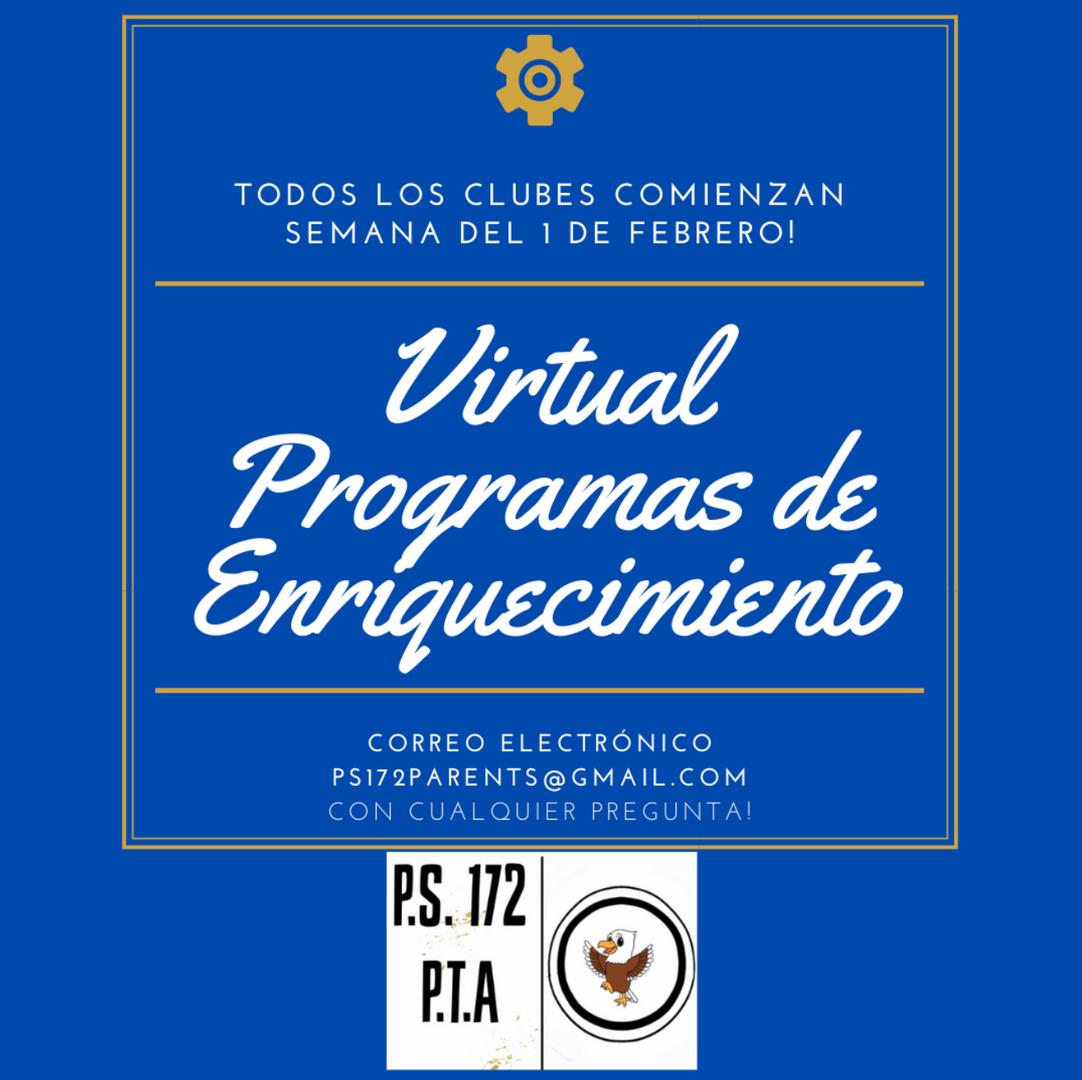Virtual Programas de Enriquecimiento