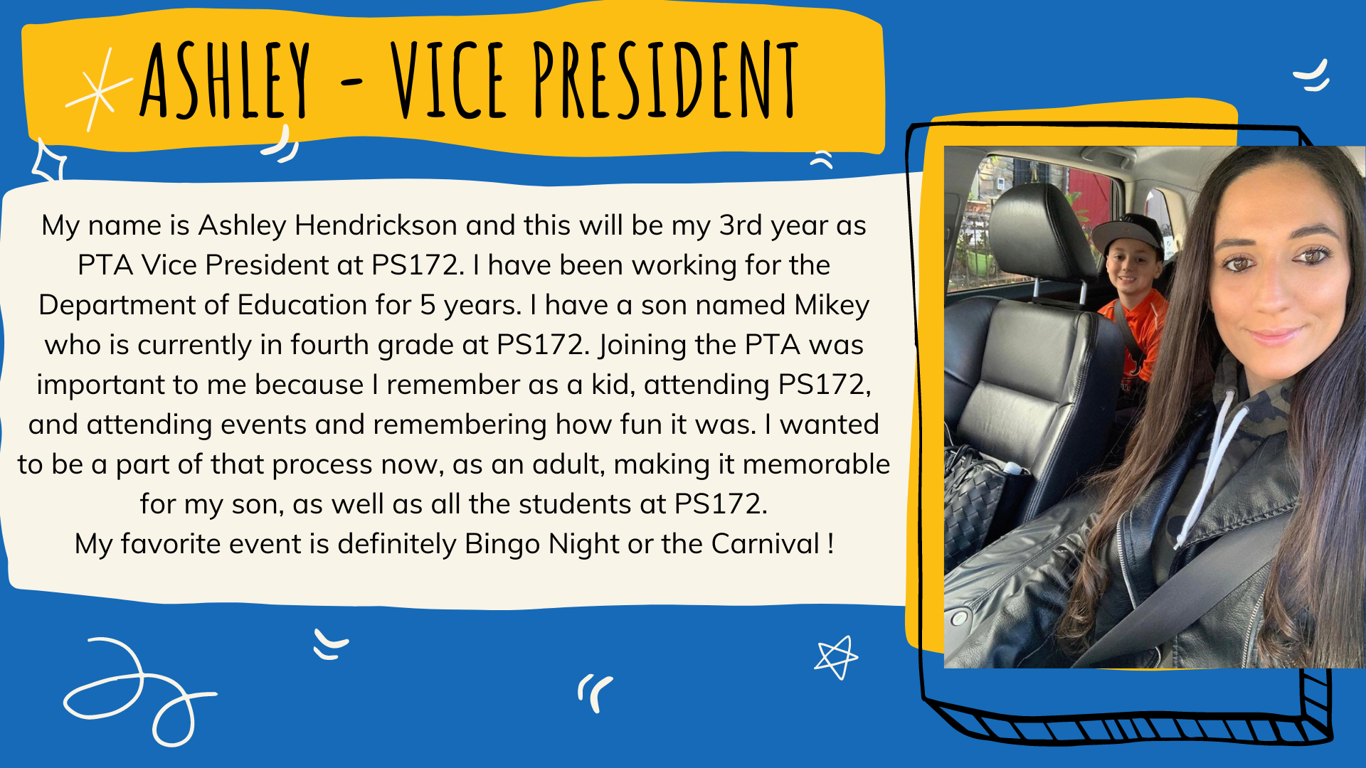 Vice President, Ashley Hendrickson