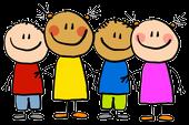 Cartoon Graphic of Kids