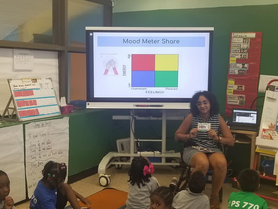 Mood Meter Share teacher presentation