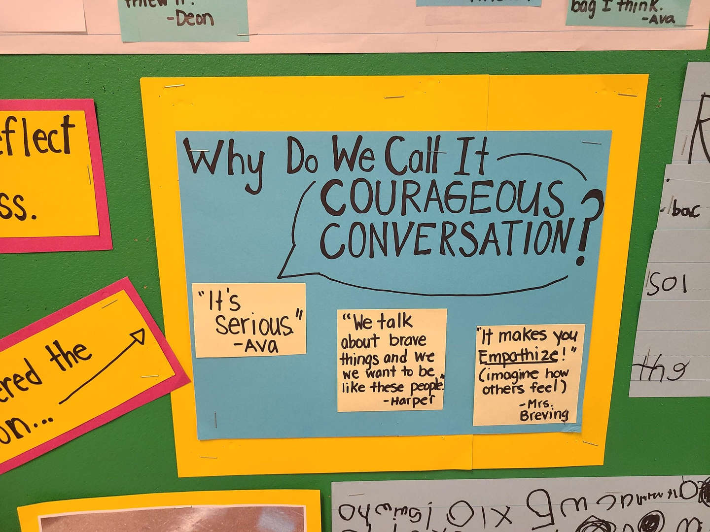 Why Do We Call It Courageous Conversation?