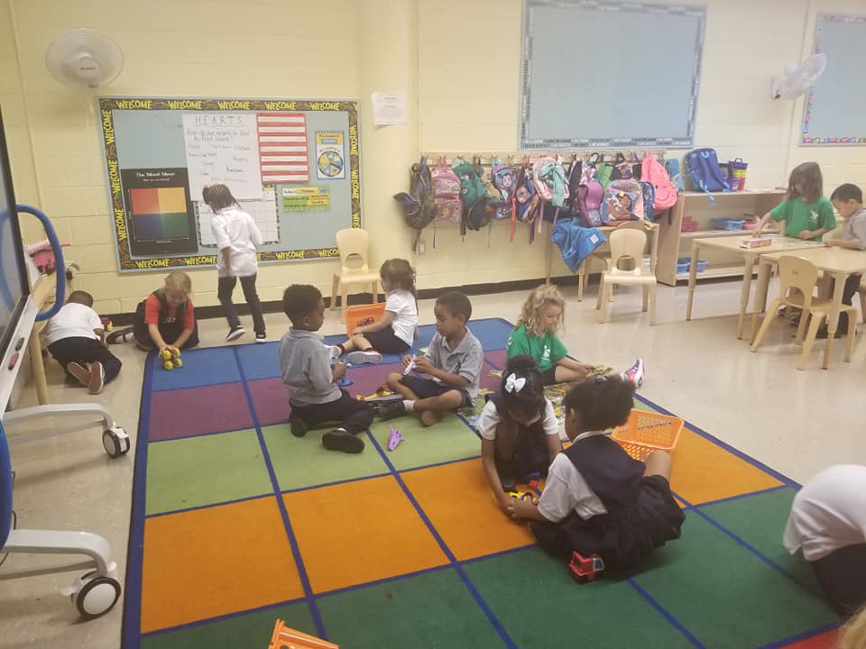 Students during playtime