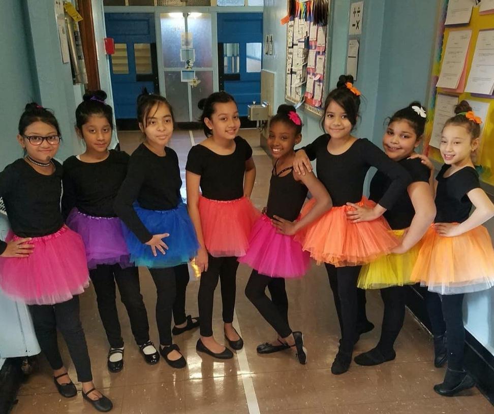 Participants in the P.S. 159 Dance Festival!