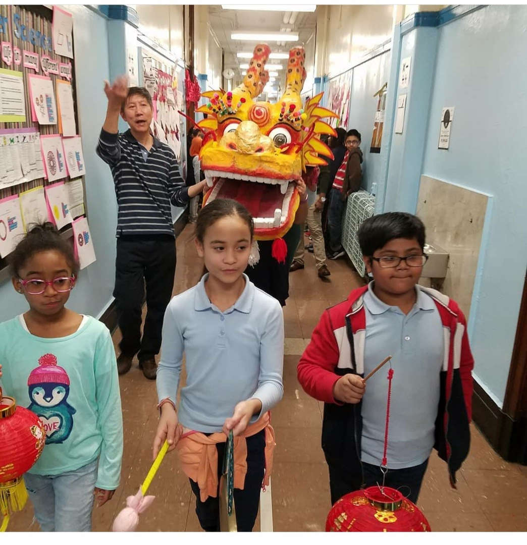 Students and faculty celebrate Chinese New Year