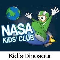NASA Kid's Dinosaur