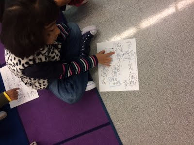 First grade learn to follow a listening map to Toto's song Africa while learning the song form