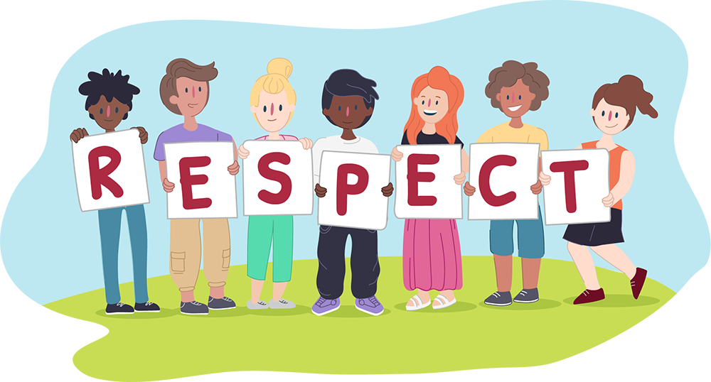 Respect Illustration