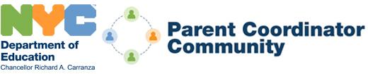New York Department of Education Parent Coordinator Community Logo