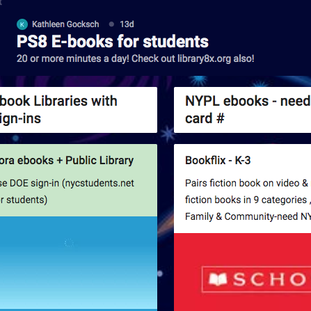 PS 8 E-books for students
