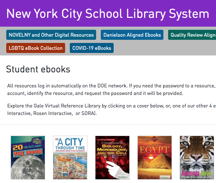New York City School Library System