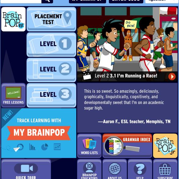 Brainpop online games