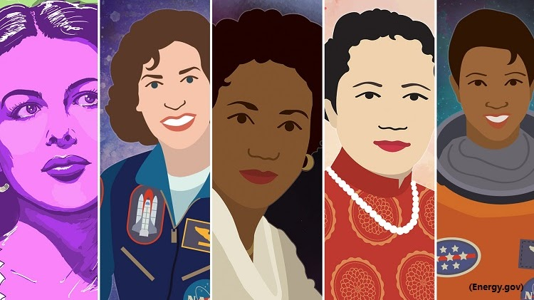 Collection of Women for Wome's History Month