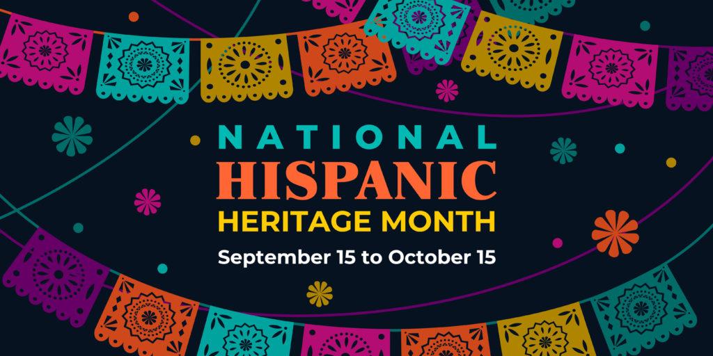 National Hispanic Heritage sign