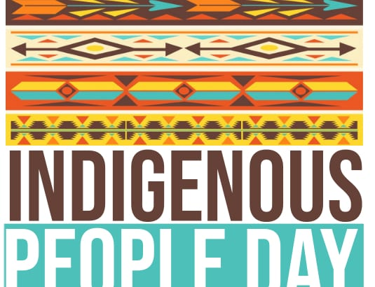 Indigenous People Day Sign