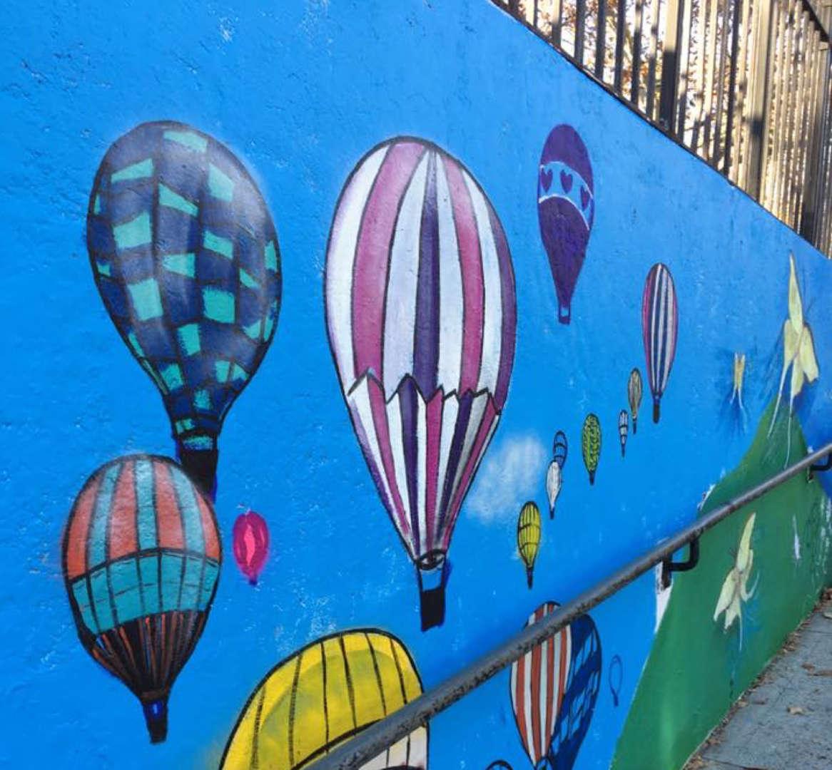 Mosholu Playground Hot Air Balloons