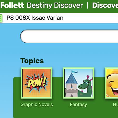 Follett Destiny Discover