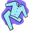 Blue Pajamas