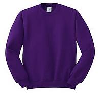 Purple Crew Sweater