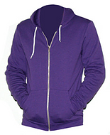 Purple Zip Sweater