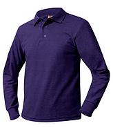 Purple Polo Long Sleeve