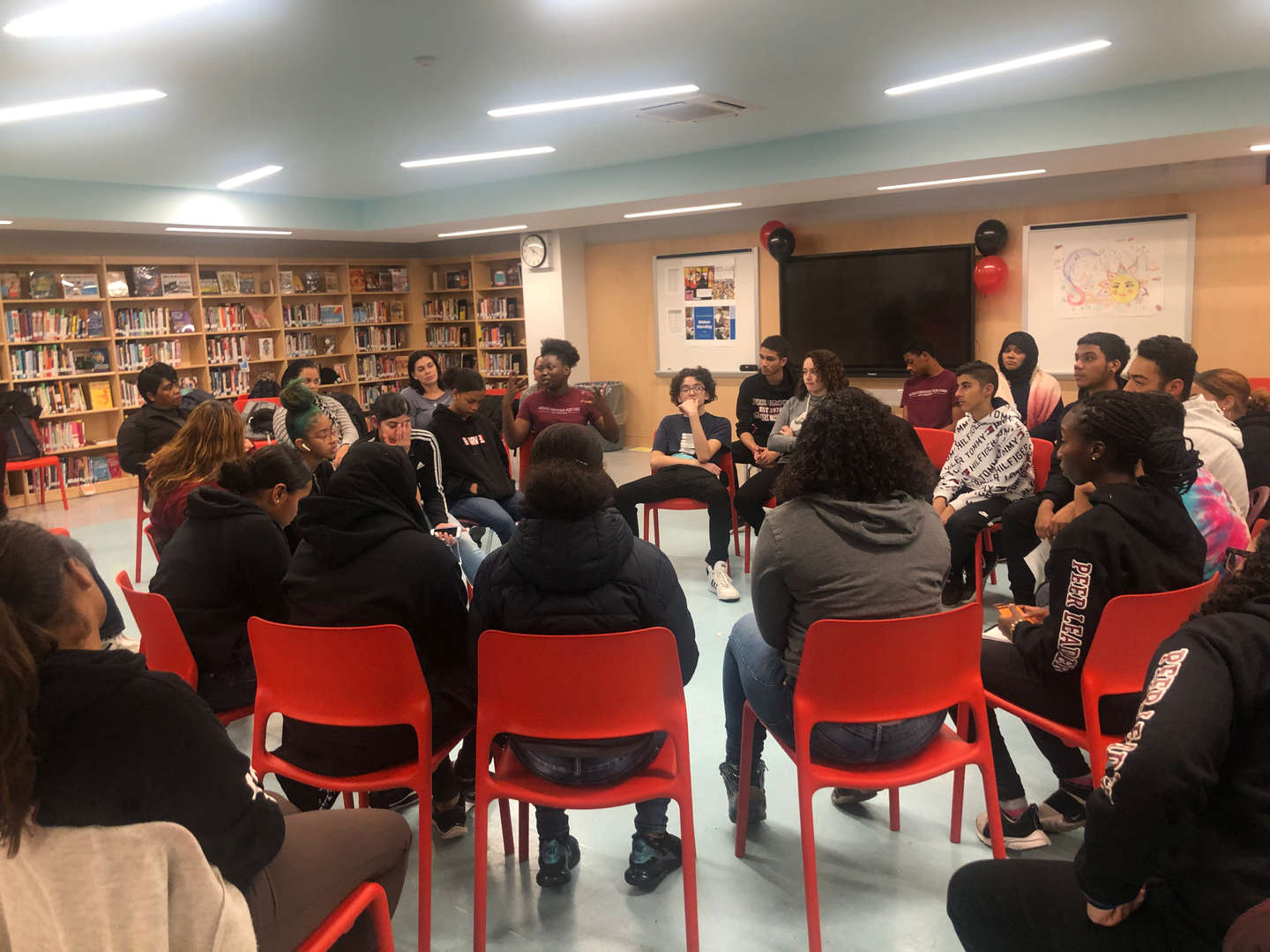 Westchester Square Academy Student Led Group Discussion