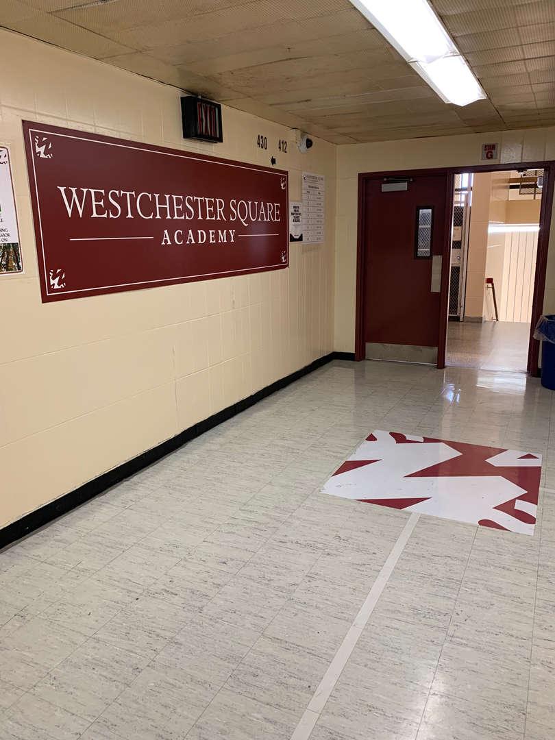 Westchester Square Academy Hallways