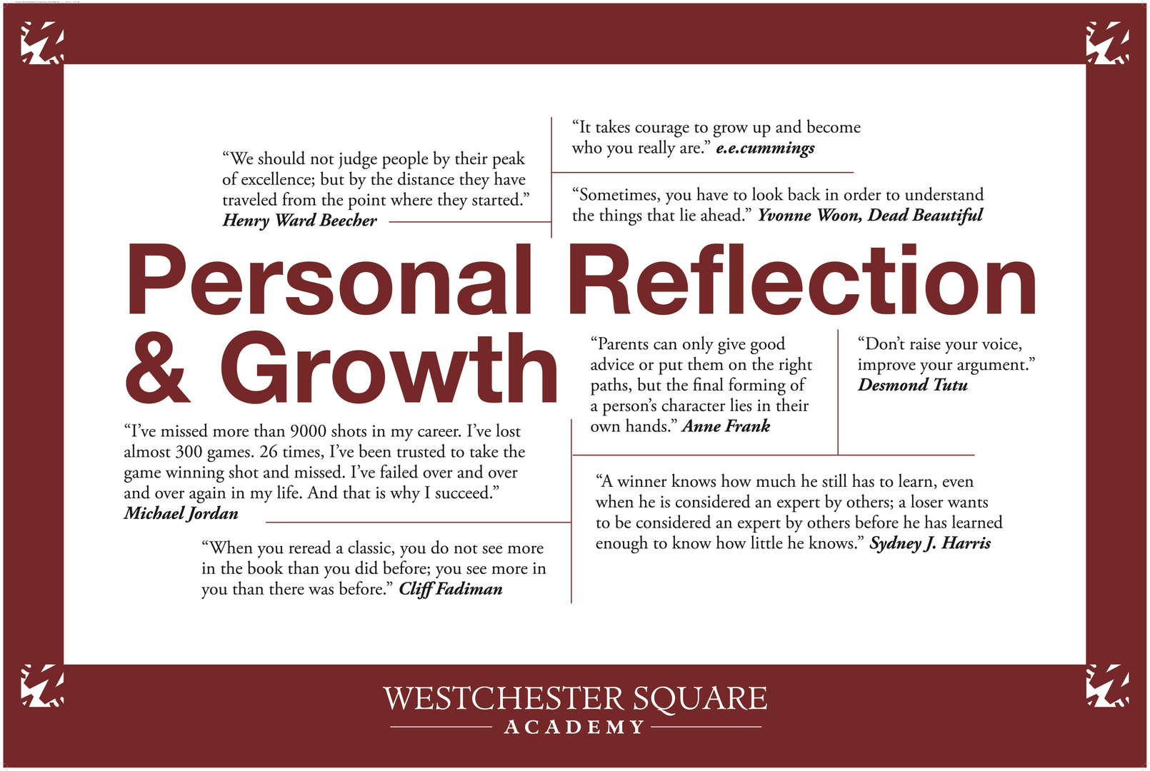Personal Reflection and Growth Core Value