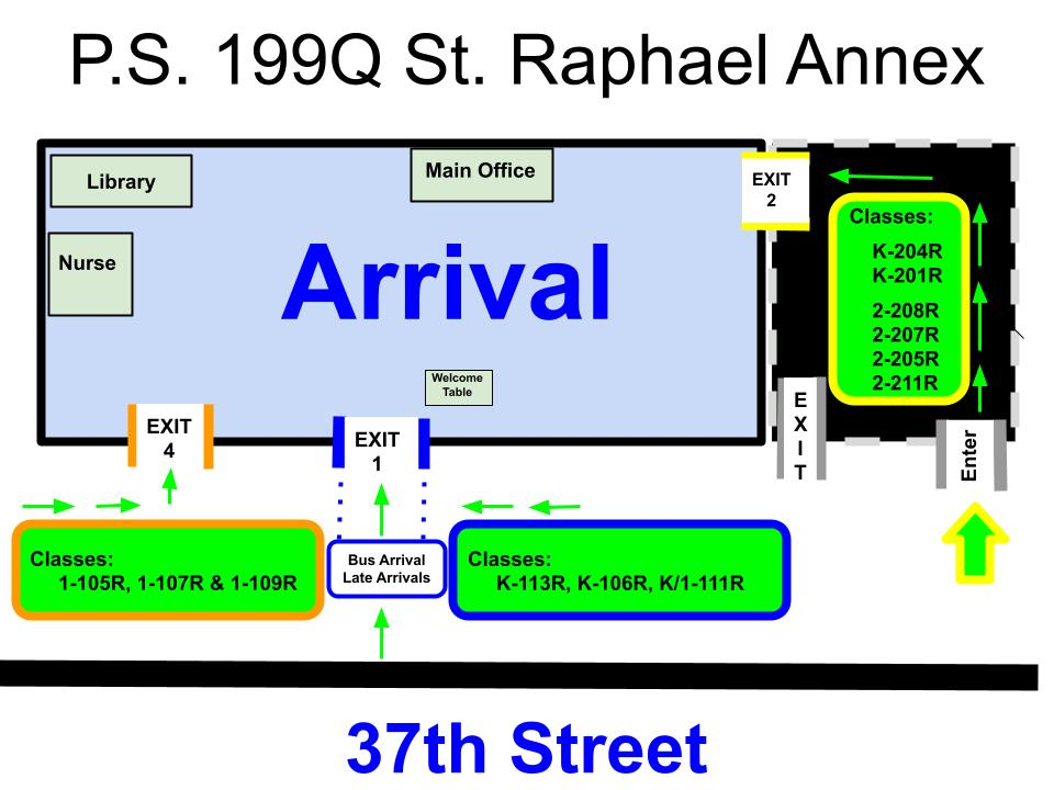 Annex Arrival Map