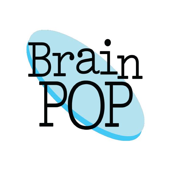Logo for Brainpop.