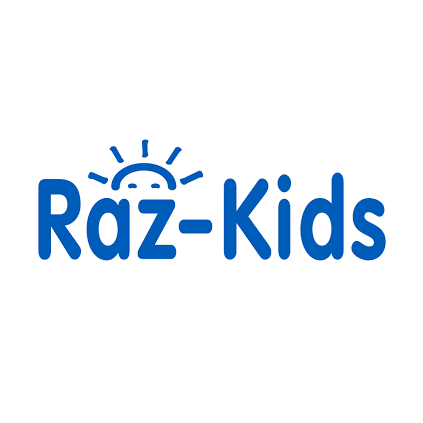Logo for Raz-Kids.