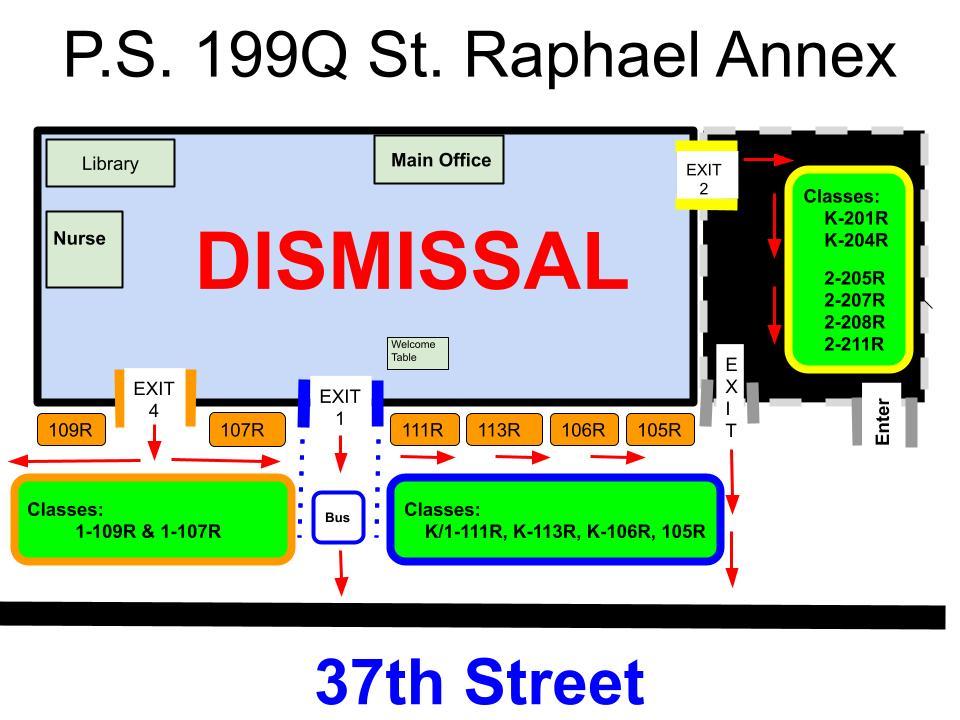 Annex Dismissal Map
