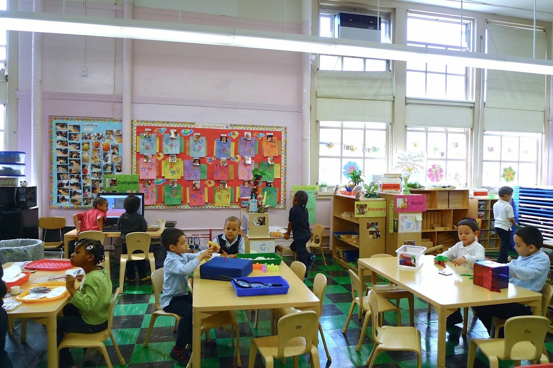 P.S. 147 Pre-K Classroom.