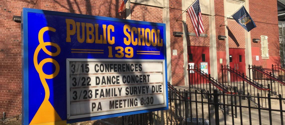Public School 139 Weekly Announcements