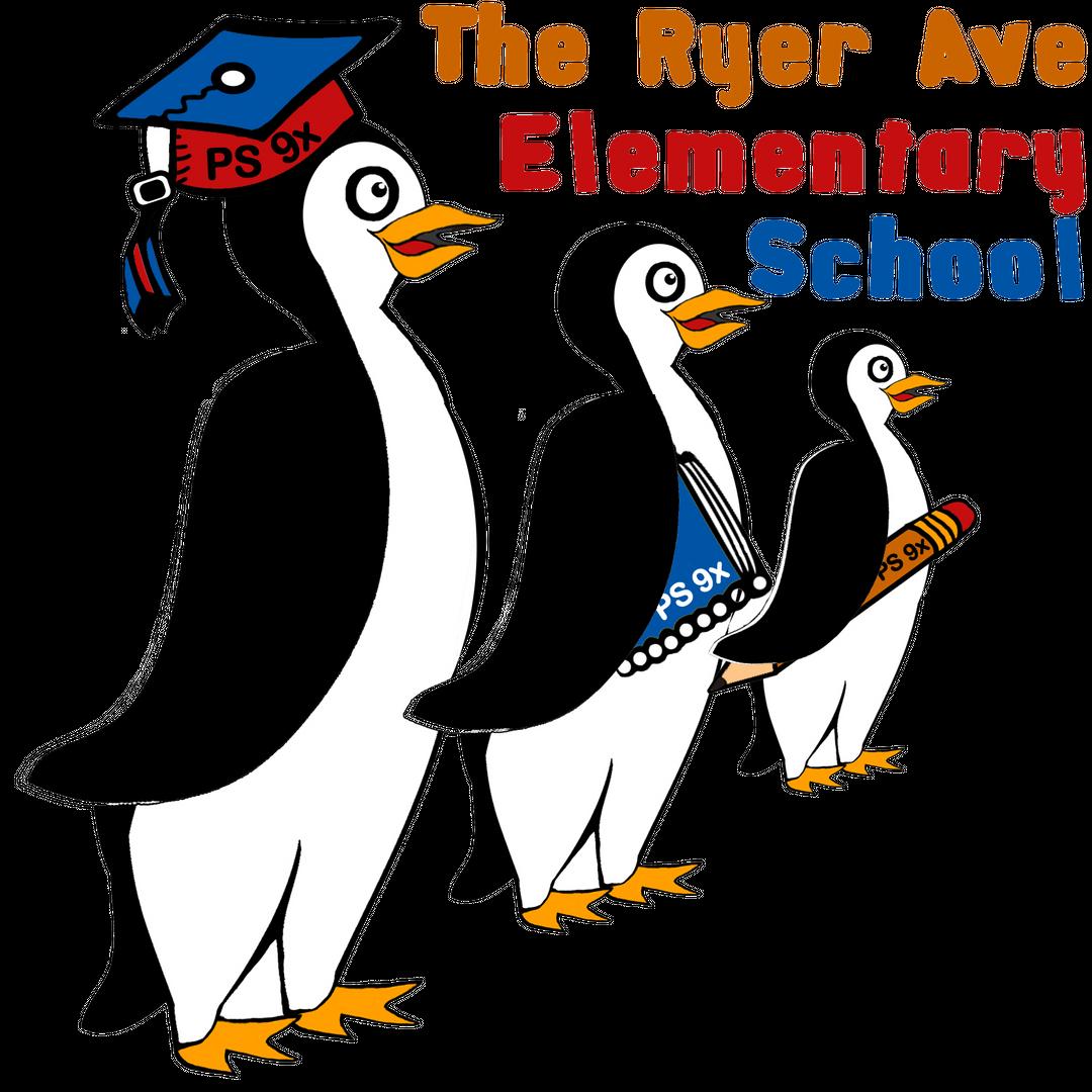 Ryer Avenue Elementary School Penguin Mascot