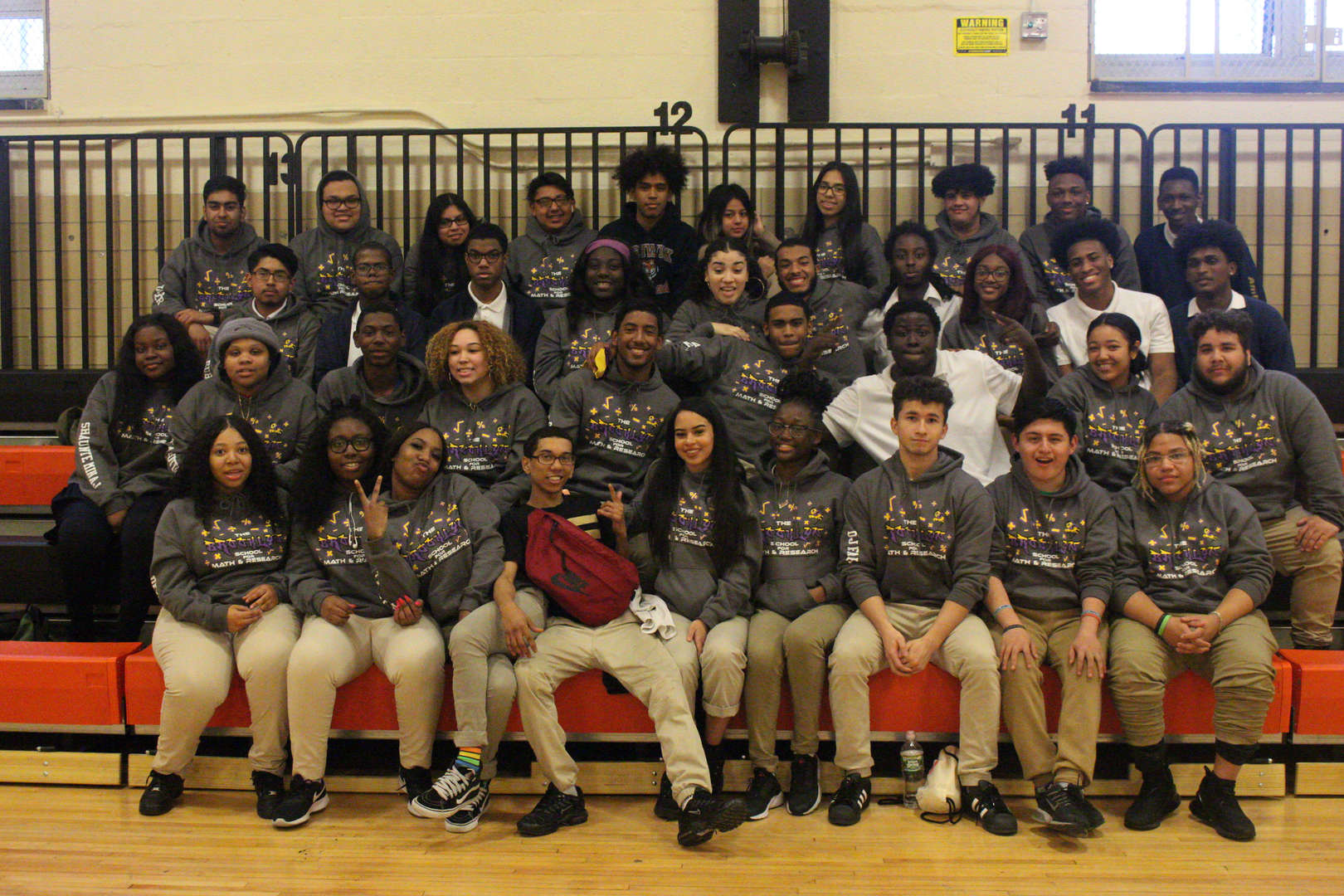 Team photo of students.