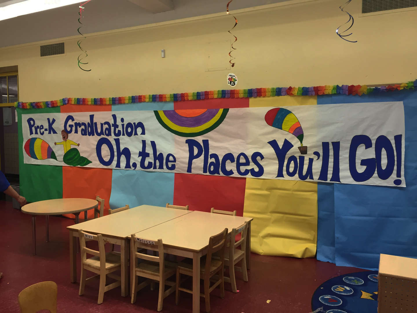 Pre-K Graduation, oh the places you'll go!