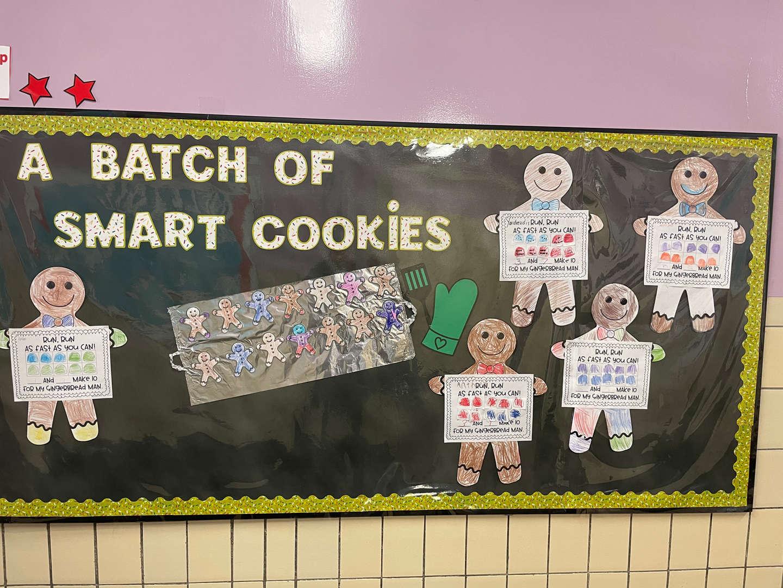 A Batch of Smart Cookies Bulletin Board