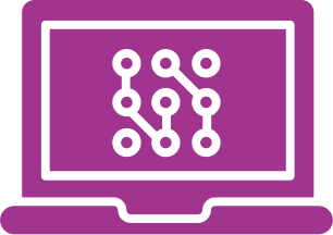 Computer Software Icon.