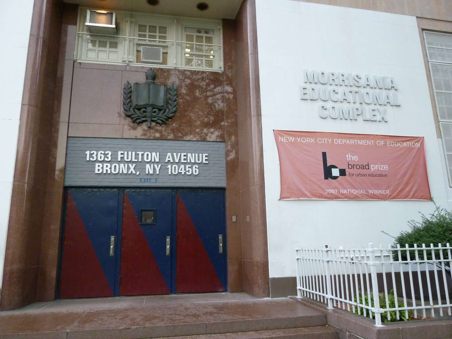 Bronx Center For Science And Mathematics School Building Entrance