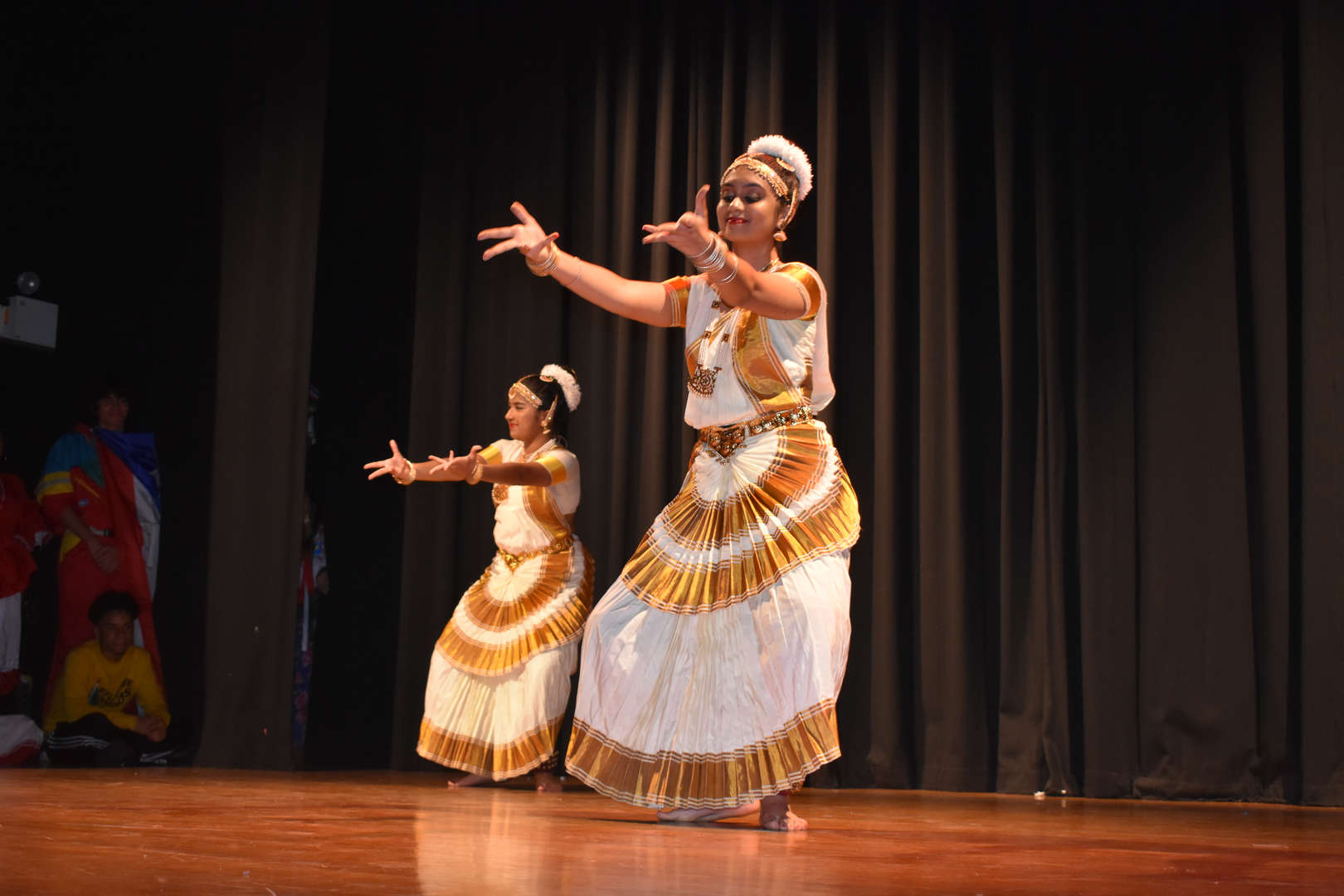 cultural dance performances on stage
