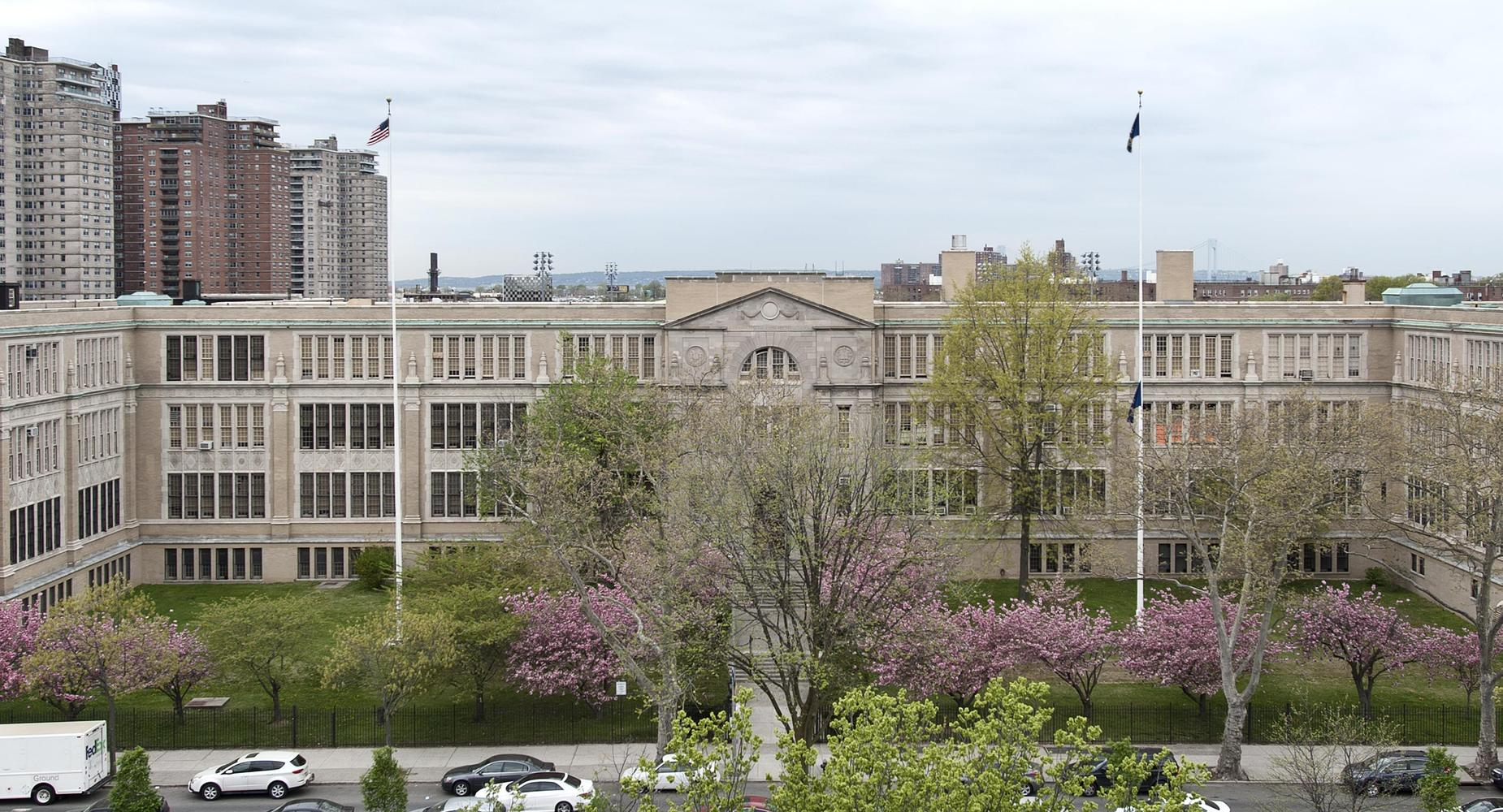 ALHS Building and Courtyard.