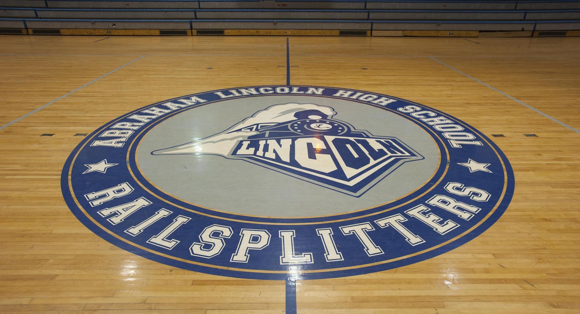Abraham Lincoln High School Railsplitters gymnasium.