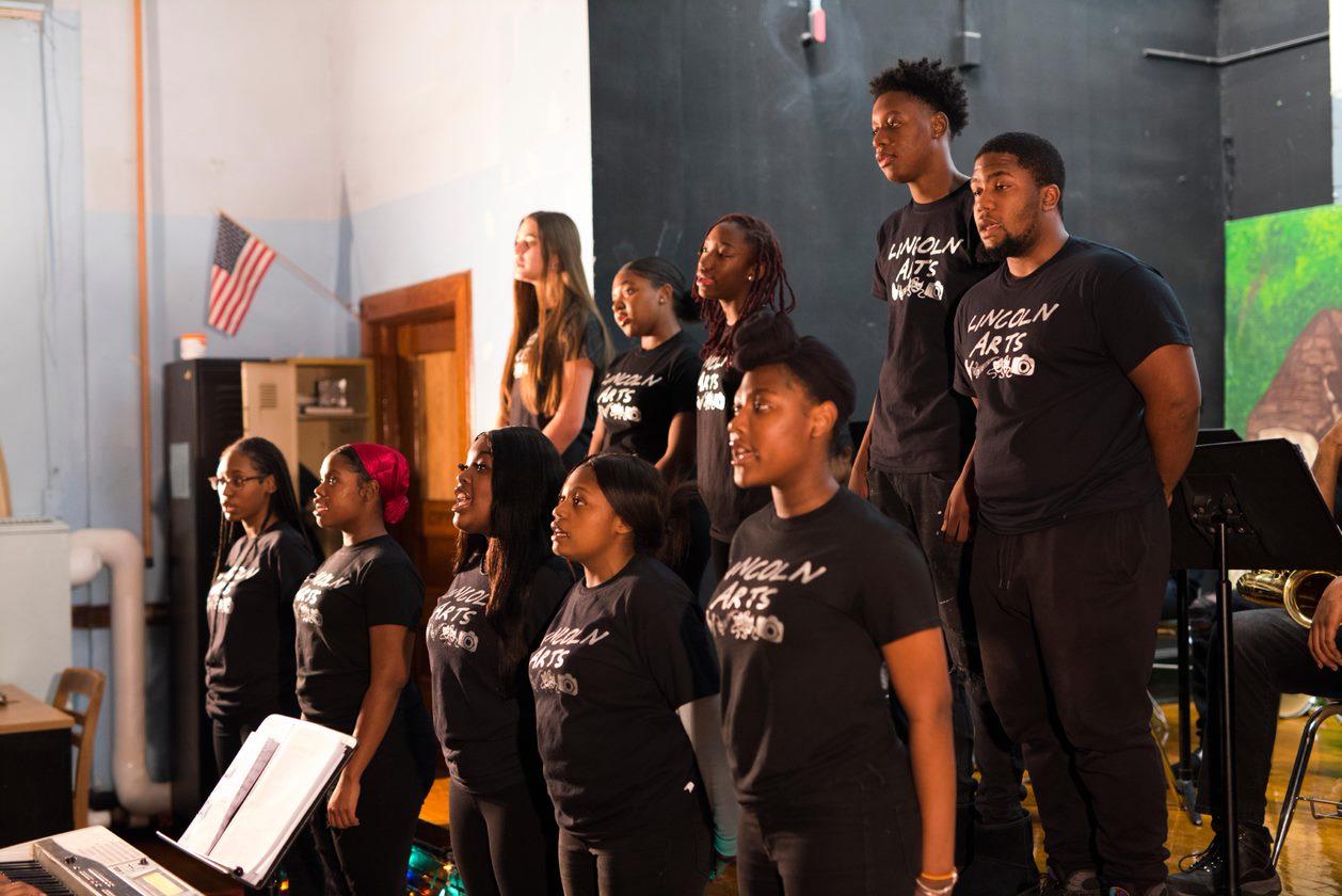 Lincoln Arts Choir Club.